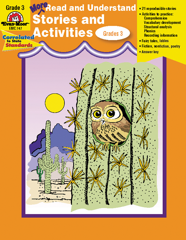 More Read and Understand: Stories and Activities, Grade 3