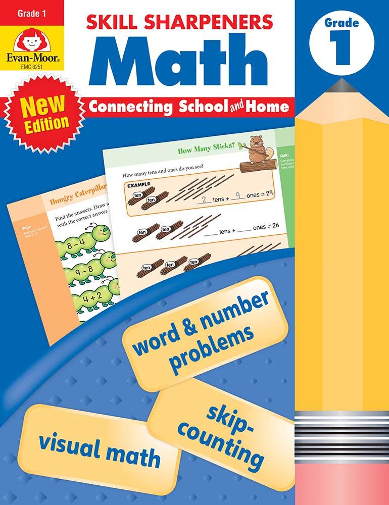 Skill Sharpeners: Math, Grade 1