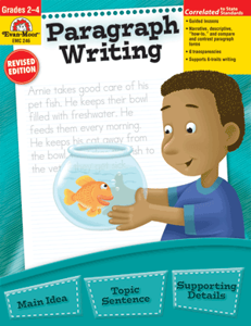 Picture of Paragraph Writing, Grades 2-4 - Teacher Reproducibles, Print