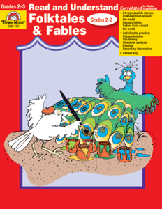Picture of Read and Understand: Folktales and Fables, Grades 2-3 - Teacher Reproducibles, Print