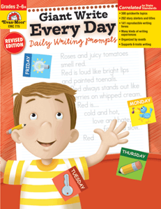 Picture of Giant Write Every Day: Daily Writing Prompts, Grades 2-6 - Teacher Reproducibles, Print