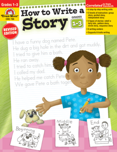 Picture of How to Write A Story, Grades 1-3 - Teacher Resource, Print