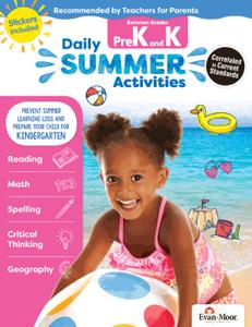 Picture of Daily Summer Activities: Between Grades PreK and Kindergarten, Grades PreK-K - Activity Book