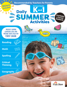 Picture of Daily Summer Activities: Between Grades Kindergarten and 1st Grade, Grades K-1 - Activity Book