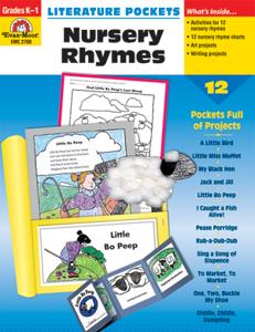 Picture of Literature Pockets: Nursery Rhymes, Grades K-1 - Teacher Reproducibles, Print