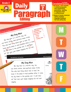 Picture of Daily Paragraph Editing, Grade 2 - Teacher's Edition, Print