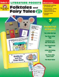 Picture of Literature Pockets: Folktales & Fairy Tales, Grades K-1 - Teacher Reproducibles, Print