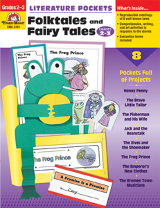 Picture of Literature Pockets: Folktales & Fairy Tales, Grades 2-3 - Teacher Reproducibles, Print