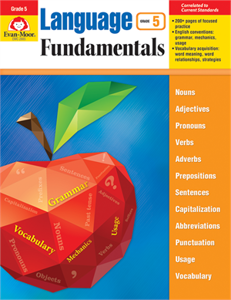 Picture of Language Fundamentals, Grade 5 - Teacher Reproducibles, Print