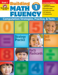 Picture of Building Math Fluency, Grade 1 - Teacher Reproducibles, Print