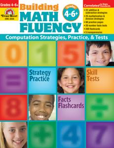 Picture of Building Math Fluency, Grades 4-6+ - Teacher Reproducibles, Print