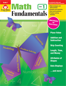 Picture of Math Fundamentals, Grade 1 - Teacher Reproducibles, Print