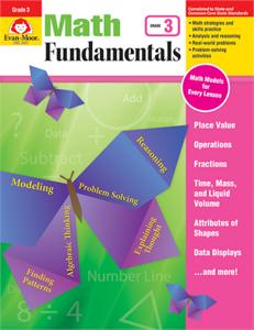 Picture of Math Fundamentals, Grade 3 - Teacher Reproducibles, Print