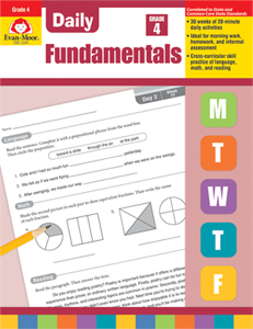 Picture of Daily Fundamentals, Grade 4 - Teacher's Edition, Print