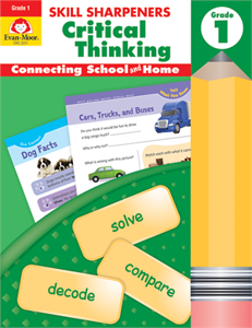 Picture of Skill Sharpeners: Critical Thinking, Grade 1 - Activity Book