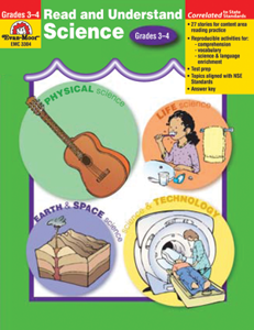 Picture of Read and Understand Science, Grades 3-4 - Teacher Reproducibles, Print