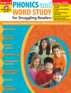 Picture of Phonics and Word Study for Struggling Readers, Grades 4-6+ - Teacher Reproducibles, Print