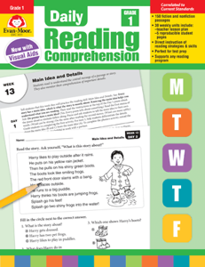Picture of Daily Reading Comprehension, Grade 1 - Teacher's Edition, Print