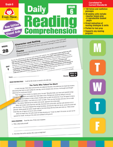 Picture of Daily Reading Comprehension, Grade 6 - Teacher's Edition, Print