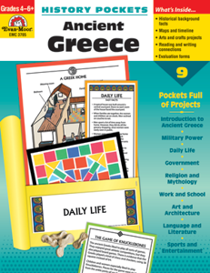 Picture of History Pockets: Ancient Greece, Grades 4-6 - Teacher Reproducibles, Print