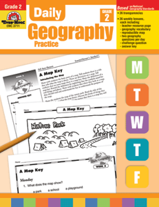 Picture of Daily Geography Practice, Grade 2 - Teacher's Edition, Print