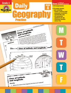 Picture of Daily Geography Practice, Grade 4 - Teacher's Edition, Print