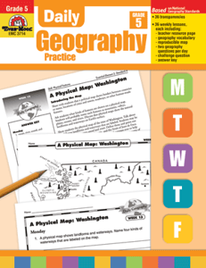 Picture of Daily Geography Practice, Grade 5 - Teacher's Edition, Print