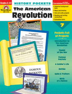 Picture of History Pockets: The American Revolution, Grades 4-6 - Teacher Resource, Print