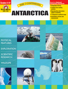 Picture of 7 Continents: Antarctica, Grades 4-6 - Teacher Reproducibles, Print