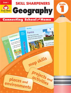 Picture of Skill Sharpeners: Geography, Grade 1 - Activity Book