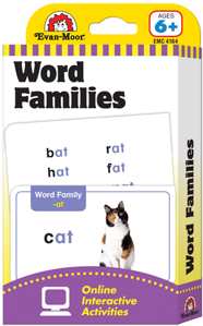 Picture of Learning Line: Word Families, Grades 1+ (Ages 6+) - Flashcards
