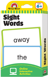 Picture of Learning Line: Sight Words, Grades 1+ (Ages 6+) - Flashcards