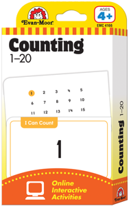 Picture of Learning Line: Counting 1-20, Grade PreK+ (Age 4+) - Flashcards