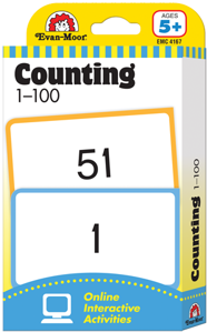 Picture of Learning Line: Counting 1-100, Grade K+ (Age 5+) - Flashcards
