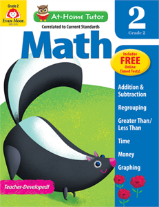Picture of At-Home Tutor: Math, Grade 2 - Activity Book