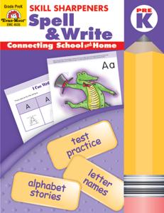 Picture of Skill Sharpeners: Spell & Write, Grade PreK - Activity Book