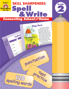 Picture of Skill Sharpeners: Spell & Write, Grade 2 - Activity Book