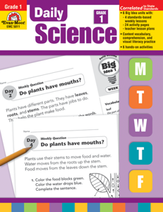 Picture of Daily Science, Grade 1 - Teacher's Edition, Print