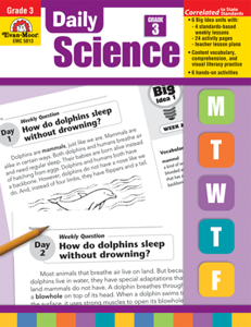 Picture of Daily Science, Grade 3 - Teacher's Edition, Print