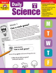 Picture of Daily Science, Grade 4 - Teacher's Edition, Print