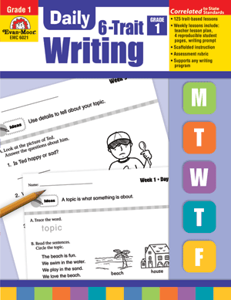 Picture of Daily 6-Trait Writing, Grade 1 - Teacher's Edition, Print