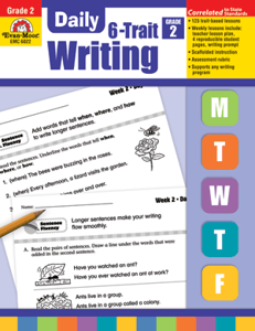 Picture of Daily 6-Trait Writing, Grade 2 - Teacher's Edition, Print