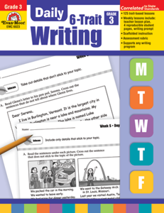Picture of Daily 6-Trait Writing, Grade 3 - Teacher's Edition, Print