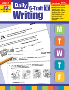 Picture of Daily 6-Trait Writing, Grade 4 - Teacher's Edition, Print