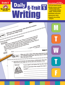 Picture of Daily 6-Trait Writing, Grade 5 - Teacher's Edition, Print