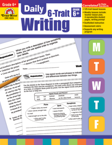 Picture of Daily 6-Trait Writing, Grade 6 - Teacher's Edition, Print