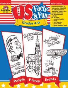 Picture of U.S. Facts & Fun, Grades 4-6 - Teacher Reproducibles, Print