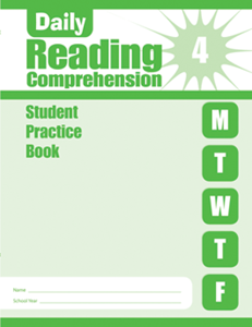 Picture of Daily Reading Comprehension, Grade 4 - Student Workbook (5-pack)