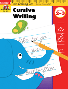Picture of Learning Line: Cursive Writing, Grades 2-3 - Activity Book