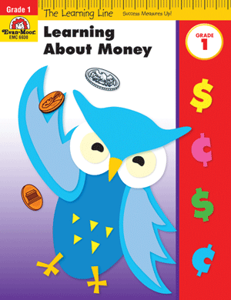 Picture of Learning Line: Learning About Money, Grade 1 - Activity Book